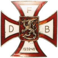 Cross of the Danish Voluteer Battalion in Finland 1939-40