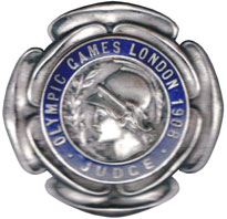 Olympic games London 1908, judge badge.