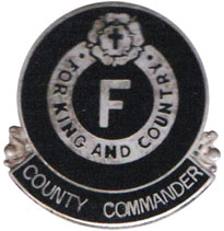 England, BUF County Commander